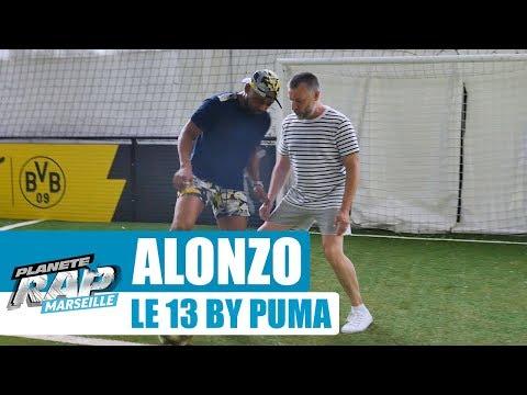 Youtube: Alonzo nous dévoile le 13 by Puma #PlanèteRap