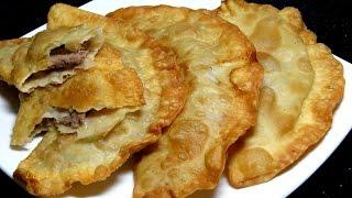 Как приготовить ЧЕБУРЕКИ видео рецепт Очень вкусные и сочные чебуреки | Delicious Chebureki recipe