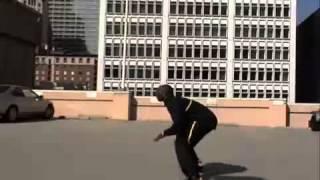 Crazy Stunts Crazy Stunt Kobe Bryant Jumps over Speeding Car Slow Mo HQ