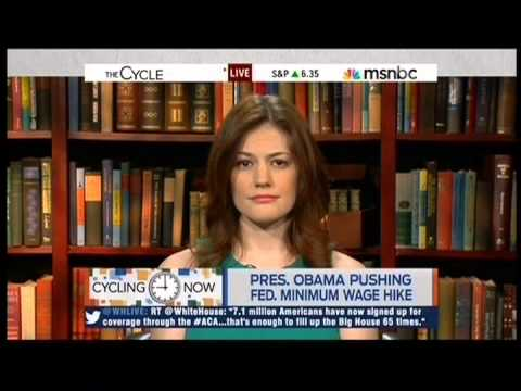 Michael Scherer & Erikka Knuti discuss Pres. Obama's push for ...