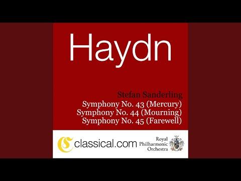 Symphony No. 45 in F sharp minor, Hob. I:45 (Farewell) - Allegro assai