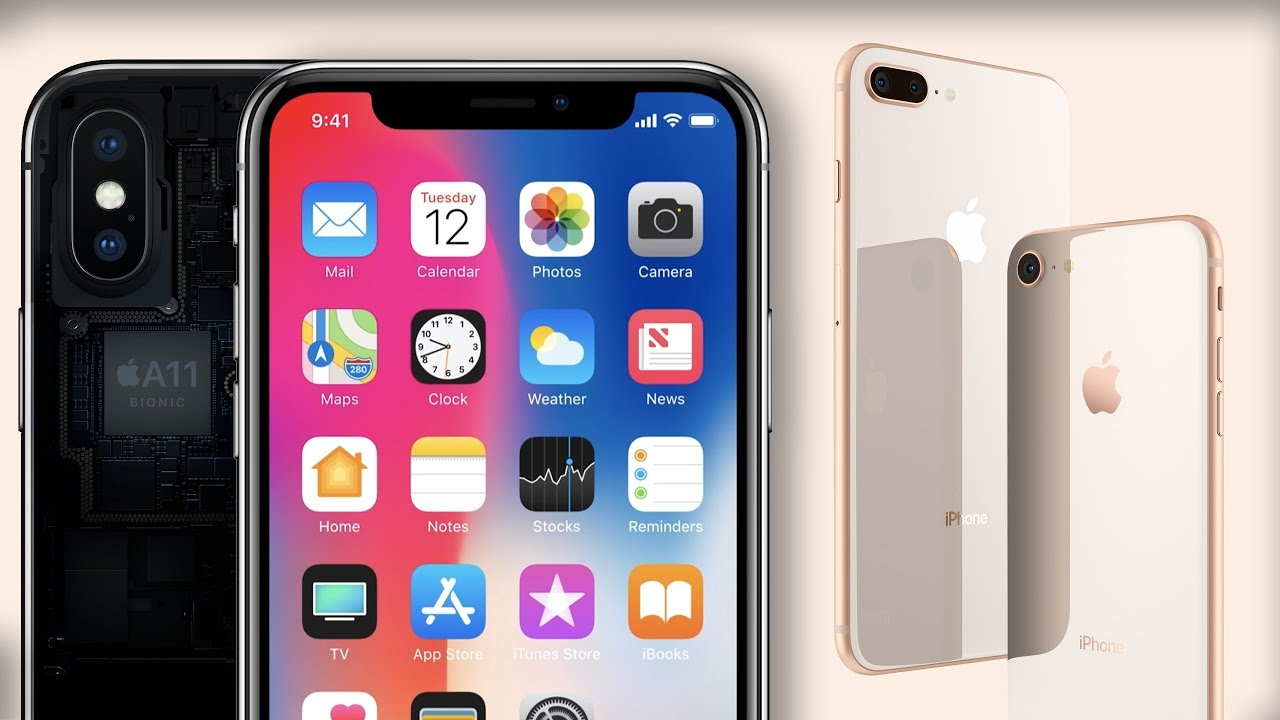 Iphone x 8 8 plus released everything you need to know for Iphone x 3 italia