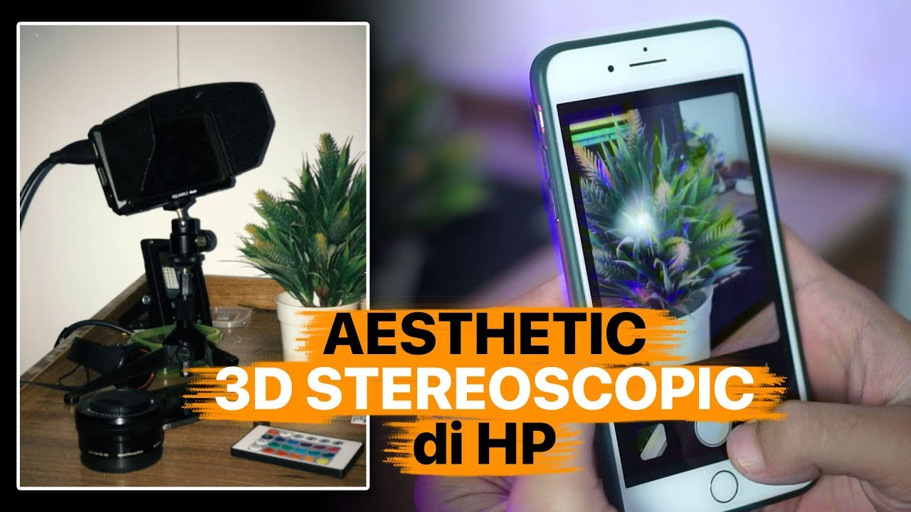 Cara Bikin Aesthetic Boomerang 3d Stereoscopic Di Hp Youtube