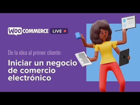 Iniciar un negocio de comercio electrónico: de la idea al primer cliente