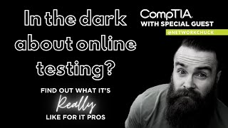 Live with Network Chuck: IT Certifications, Online Exams, and Coffee