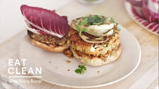 Meatless Quinoa And Feta Burgers - Eat Clean With Shira Bocar