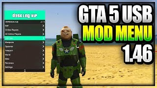 GTA 5 ONLINE USB MOD MENU TUTORIAL ON PS4/XBOX ONE/XBOX 360/PS3 NO JAILBREAK HOW TO INSTALL USB MODS