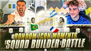 FIFA 21: RANDOM PRIME ICON MOMENTS SQUAD BUILDER BATTLE 🔥🔥 ELIASN97 vs PROOWNEZ