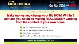 Online jobs now review - legitimate ...