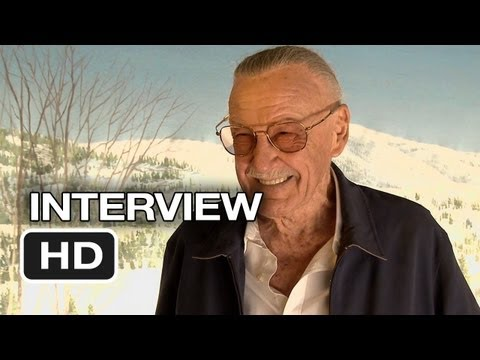 Iron Man 3 Interview - Stan Lee (2013) - Robert Downey Jr. Movie HD