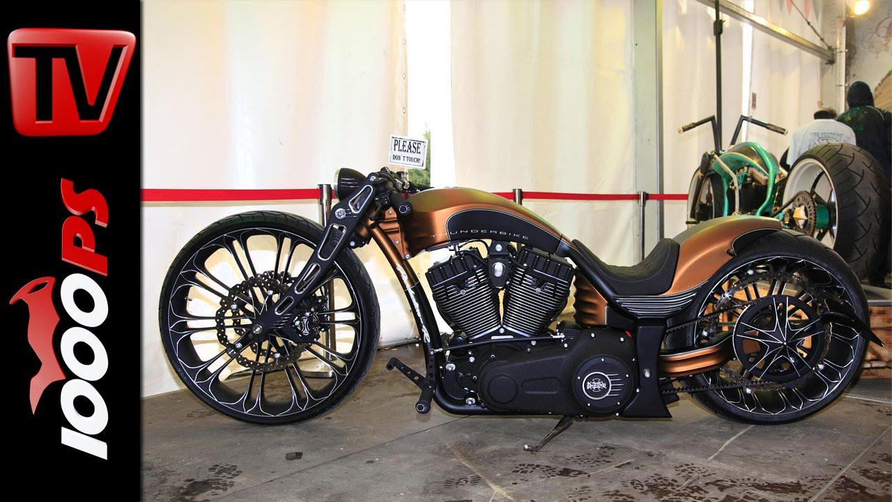 thunderbike harley davidson custombike youtube. Black Bedroom Furniture Sets. Home Design Ideas