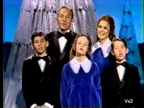 Bing Crosby and Family:  a sampling of White Christmas through the years