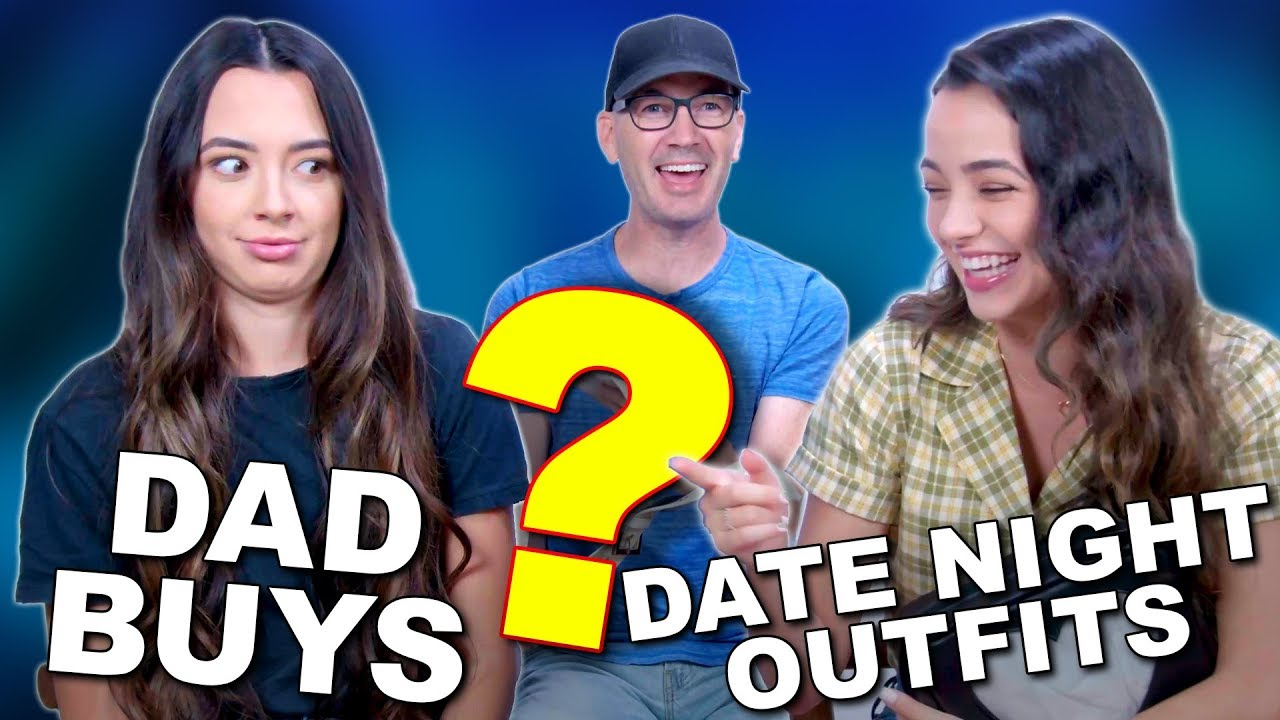 [VIDEO] - Dad Buys DAUGHTERS DATE NIGHT OUTFITS - Merrell Twins 1