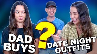 Dad Buys DAUGHTERS DATE NIGHT OUTFITS - Merrell Twins