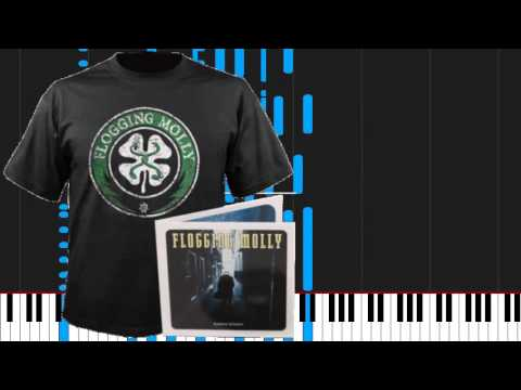 How to play Drunken Lullabies by Flogging Molly on Piano Sheet ...