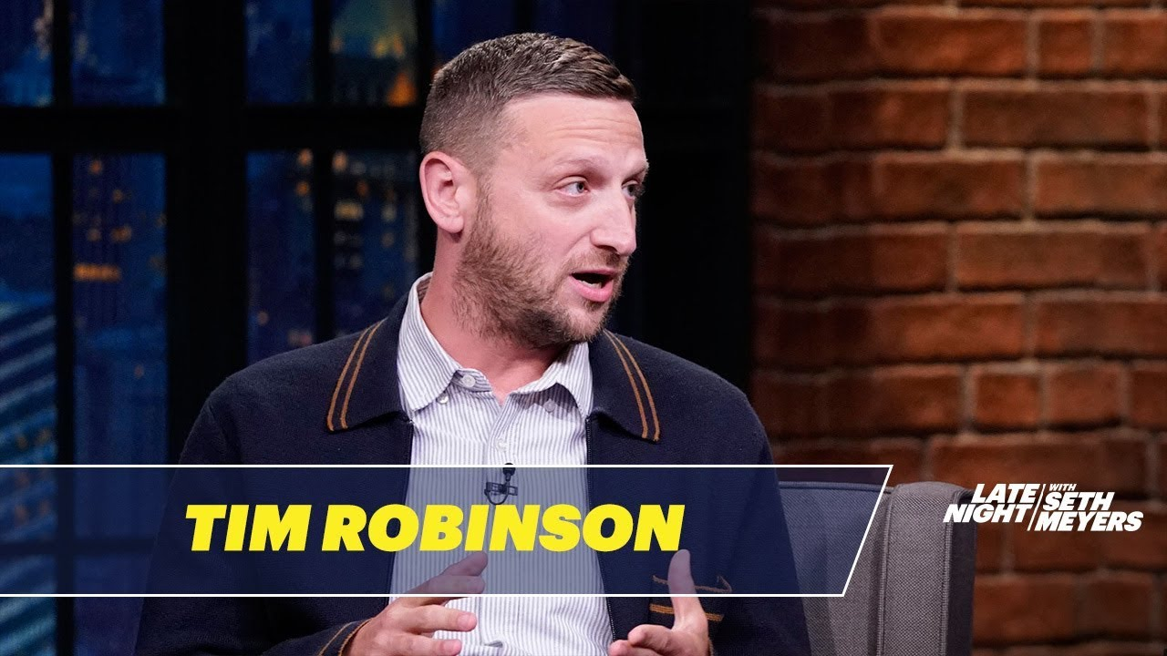 Download Tim Robinson Used Rejected SNL Sketches on I Think You Should Leave