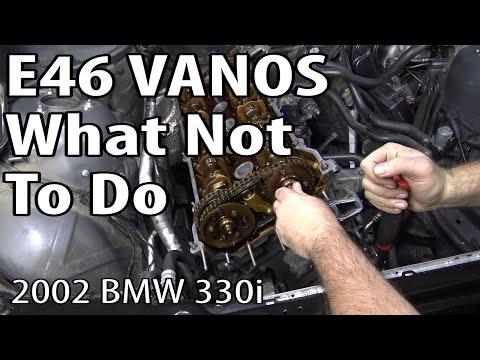 E46 Vanos Rebuild What Not To Do #m54rebuild 6