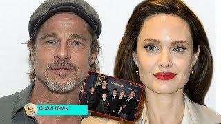 "Brad Pitt & Angelina Jolie ""reunite"" when she offers opportunity to spend summer with their children"