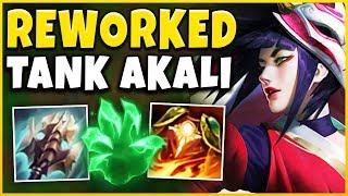 *AKALI REWORK* THE 100% PICK/BAN BUILD RETURNS (KOREAN TANK AKALI) - League of Legends