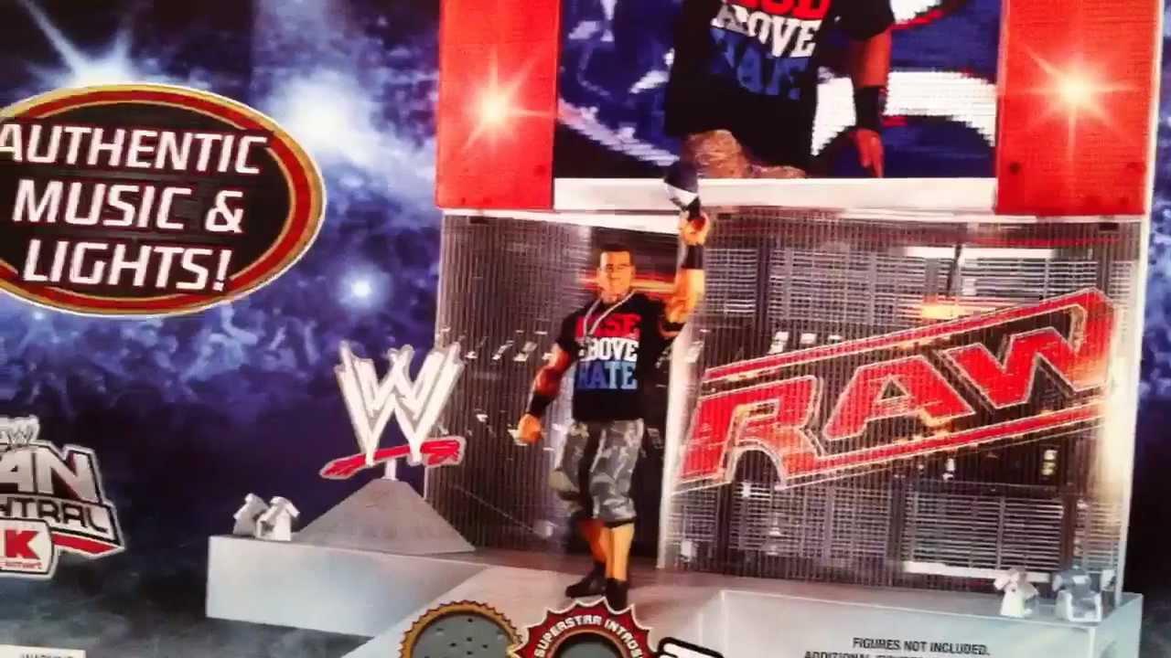WWE ACTION INSIDER RAW Entrance Stage Mattel Kmart