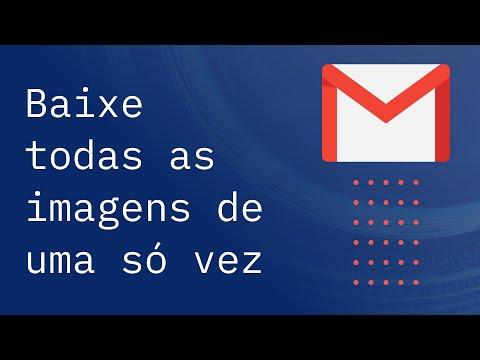 Como baixar todos os anexos de um e-mail de uma só vez no Gmail