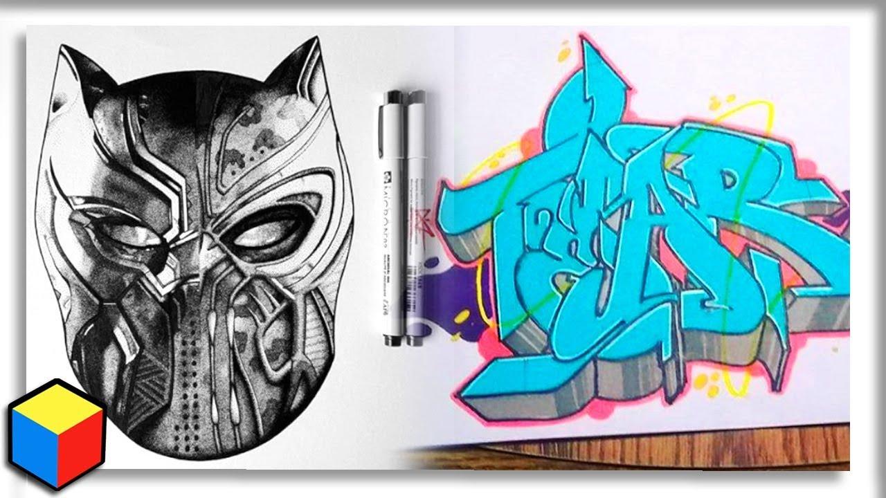 Black panther art graffiti critiques
