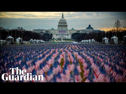 Joe Biden sworn in as 46th US president – watch live