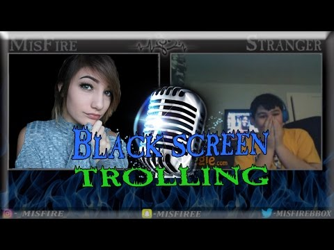 DON'T GIVE ME A HEART ATTACK! ~ Omegle Blackscreen Trolling