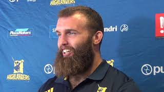Liam Coltman Hurricanes Mid-Week Media