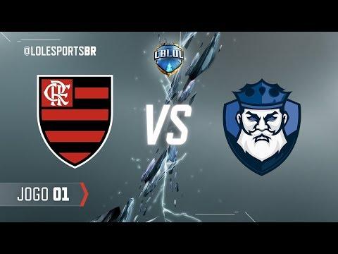 CBLoL 2018: Flamengo x CNB (Jogo 1) | Fase de Pontos - 2ª Etapa
