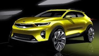 Kia Releases First Teaser Image For Stonic Compact SUV