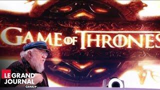 Game of Thrones : interview de George R. R. Martin créateur de la saga - Le Grand Journal
