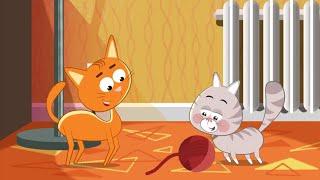 My jestesmy kotki dwa - Piosenki dla dzieci bajubaju.tv