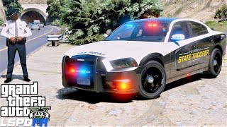 GTA 5 LSPDFR #696 San Andreas State Police Raising Money To Help Out A Friend