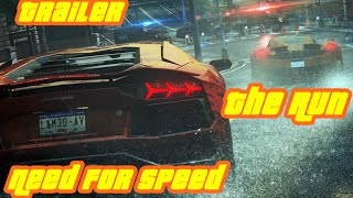 Need for Speed  The Run Trailer