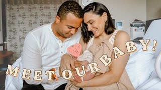 OFFICIAL BABY GIRL NAME REVEAL (a TON of you guessed it!) + Meet Our Baby!