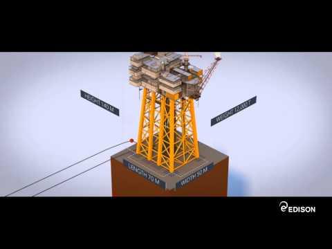 How Vega oil offshore platform works