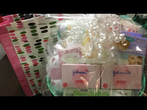 Dollar Tree Haul For Baby Shower Gifts