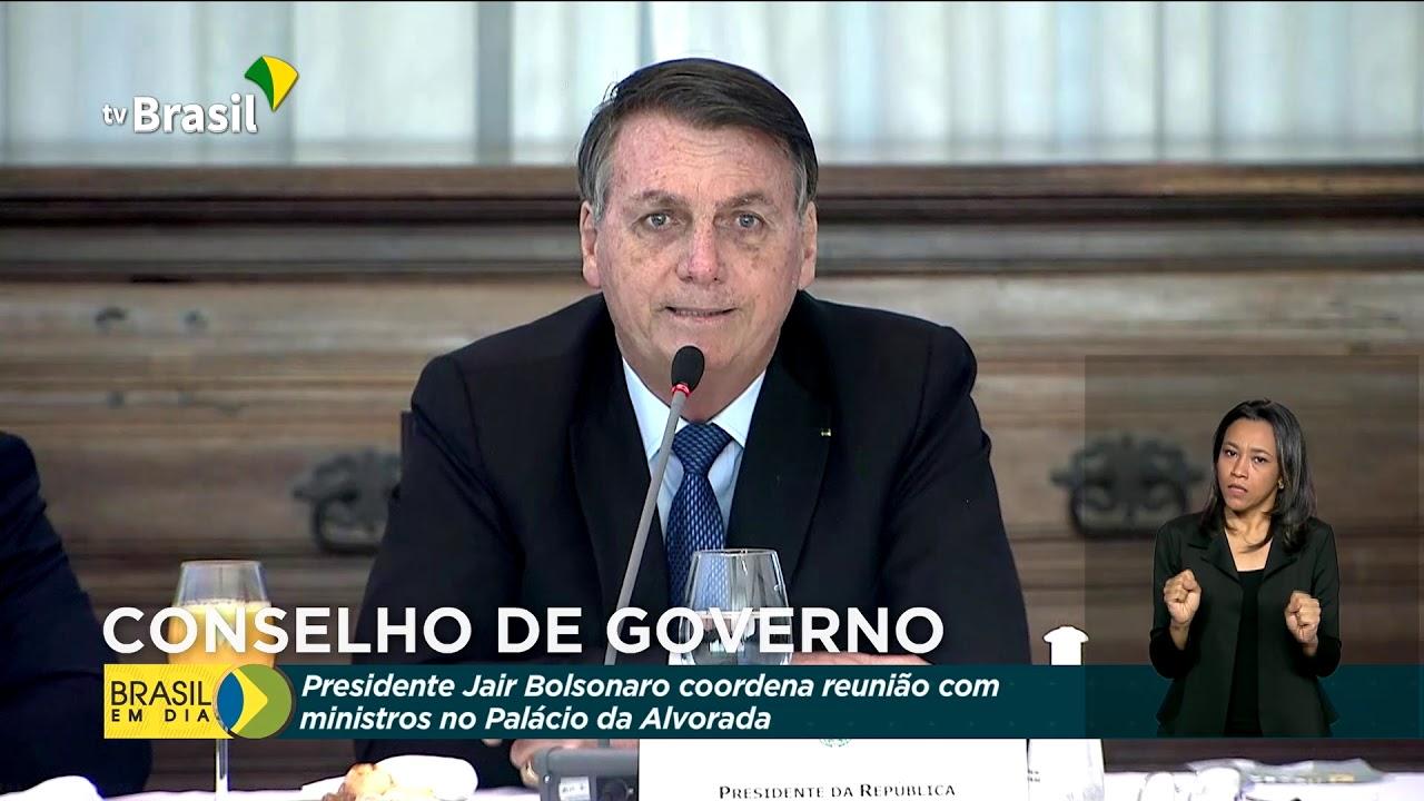 Presidente faz reunião com Conselho de Governo