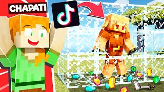 LOGGY USED TIK TOK HACKS TO GET UNLIMITED LOOT | MINECRAFT