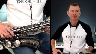 Tears in Heaven  Tenor Saxophone lesson from Sax School - learn how to play saxophone in easy steps