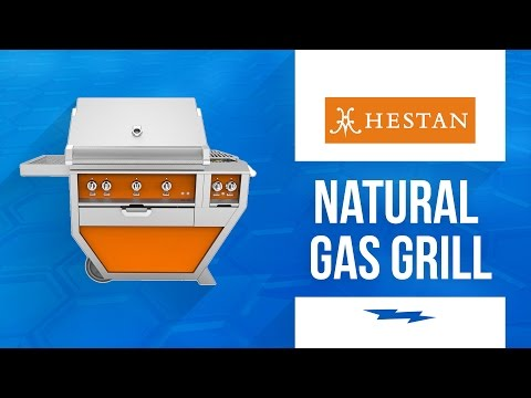 Hestan 54in Deluxe Natural Gas Grill With Double Side Burner