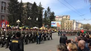 Парад Томск 2015