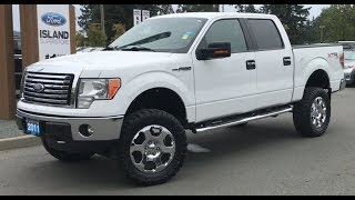 2011 Ford F-150 XLT Lifted W/ Running Boards, Heated Mirrors Review| Island Ford