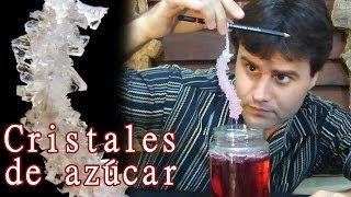 Como hacer cristales de azúcar │ Experimento Fácil