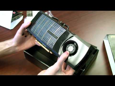NVIDIA GeForce GTX 480 Fermi DX11 Video Card Unboxing