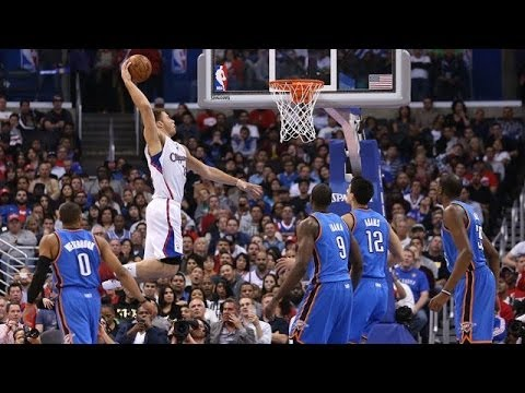 2014 NBA Western Conference Playoffs Highlights: Thunder vs Clippers, Spurs vs Blazers