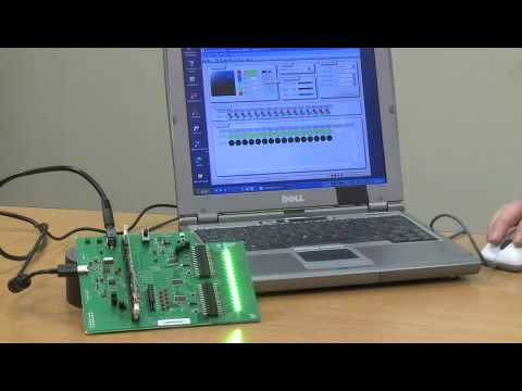A Demonstration of a 16-Channel, 12-bit PWM LED Driver