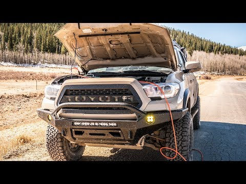 What's Under My Hood? - Tacoma Overland ARB Onboard air and stuff.