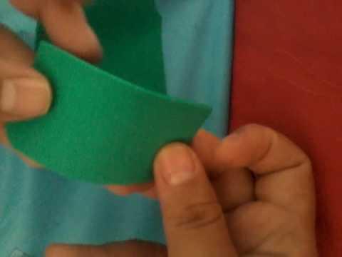 Como hacer mandil y gorro de chef miniatura para tus muñecas parte 1 ... fa082883ee1
